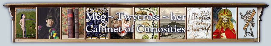 Meg Twycross her Cabinet of Curiosities